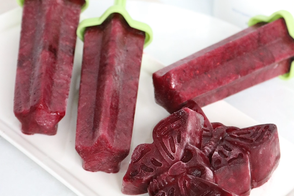 Berry Beauty Collagen Popsicles
